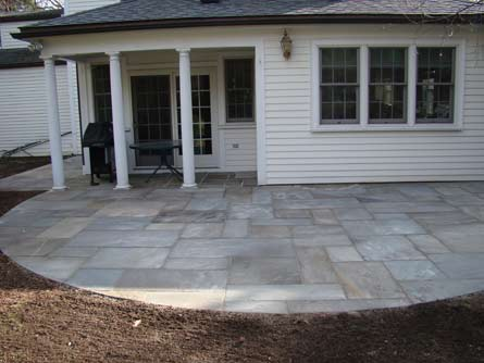 Wellesley Patio Before and After after